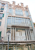 Art nouveau building Palma Stock Image