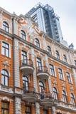 Art Nouveau building Riga Stock Photography
