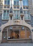 Art Nouveau Building Tallinn, Estonia Imágenes de archivo libres de regalías