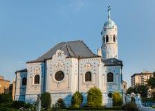 Art Nouveau Church van St Elizabeth in Bratislava, Slowakije stock afbeeldingen