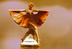 art nouveau dancer statue Royalty Free Stock Images