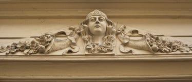 Art nouveau. Decoration on old building Stock Image