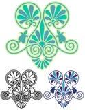 Art Nouveau Decorative Motif Imagenes de archivo
