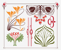 Art-nouveau design vector illustration