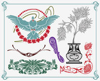 Art-nouveau design Stock Image