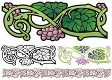 Art Nouveau Design Element royalty-vrije illustratie