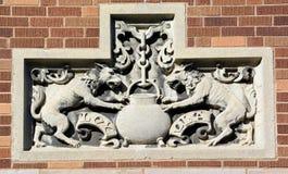 Art Nouveau detaljer Fotografering för Bildbyråer