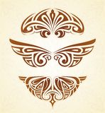 Art nouveau elements Stock Images