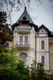 Art Nouveau eller Liberty Stile hus royaltyfria foton