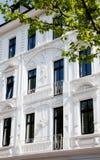Art nouveau. Facade of Art Nouveau building architecture Stock Photos
