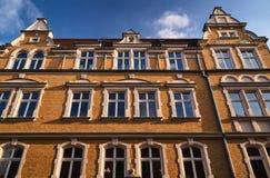 Art Nouveau facade of the building Royalty Free Stock Photos