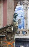 Art Nouveau. Facade decoration in Porto Stock Photography