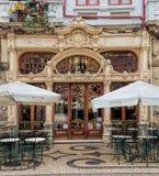 Art Nouveau. Facade decoration in Porto Royalty Free Stock Photography