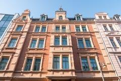 Art nouveau facade Royalty Free Stock Image