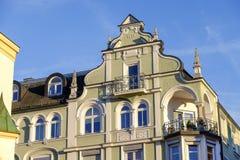 Art nouveau facade Stock Image