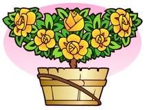Art Nouveau floral ornament Royalty Free Stock Image