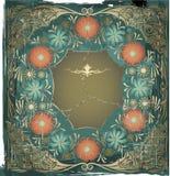 Art nouveau frame Royalty Free Stock Image