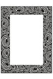 Art nouveau frame Royalty Free Stock Images