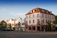Art Nouveau Hotel in Lügtendortmund - Germany Stock Image