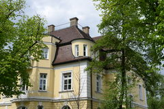Art Nouveau. House in bavaria Royalty Free Stock Photography