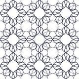 Art Nouveau Linear Pattern Images libres de droits
