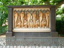 Art nouveau mathildenhöhe darmstadt, germany, europe, friese Stock Photo