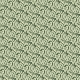 Art nouveau pattern with flowers Royalty Free Stock Photos