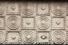 Art Nouveau pattern in Hradec Kralove, Czech Republic. Stock Images