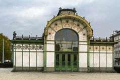 The Art Nouveau pavilion, Vienna Stock Images