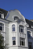 Art Nouveau radhus royaltyfria foton