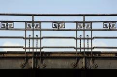 Art Nouveau railing Stock Image