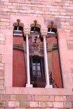 Art Nouveau refleja en Gotic Fotos de archivo