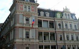 Art Nouveau in Riga royalty-vrije stock foto