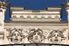 Art Nouveau Riga stock foto