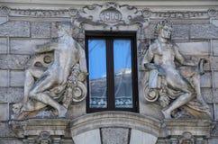 Art Nouveau in Rom Lizenzfreie Stockfotos