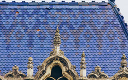 Art nouveau roof stock photography
