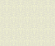Art Nouveau seamless wallpaper Royalty Free Stock Image