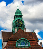 The Art Nouveau Spa House in Bad Nauheim, Germany Stock Photos