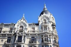 Art nouveau in Spain Royalty Free Stock Photo