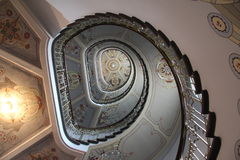 Art Nouveau staircase Royalty Free Stock Images