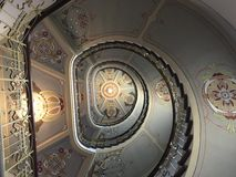 Art Nouveau stairs Royalty Free Stock Photography