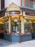 Art nouveau store front Royalty Free Stock Photos