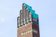 Art Nouveau style Hochzeitsturm, wedding tower, in Darmstadt Royalty Free Stock Photography