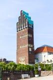 Art Nouveau style Hochzeitsturm, wedding tower, in Darmstadt Stock Photography