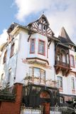 Art Nouveau style house in residential area Stock Photos