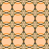Art Nouveau Style Wallpaper. An Art Nouveau style repeating pattern that resembles wallpaper Royalty Free Stock Photography