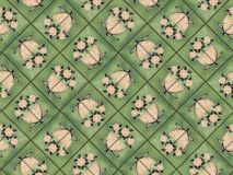 Art nouveau tiles Royalty Free Stock Image