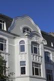 Art Nouveau townhouse Royalty Free Stock Photos