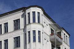 Art nouveau townhouse Stock Photo