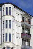 Art nouveau townhouse. In Kiel, Germany Stock Photo